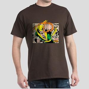 Retro Marvel Iron Fist Dark T-Shirt