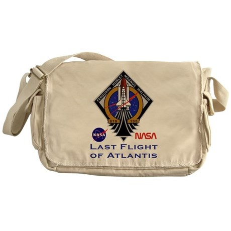 Last Flight of Atlantis Messenger Bag