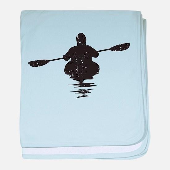 Kayaking baby blanket