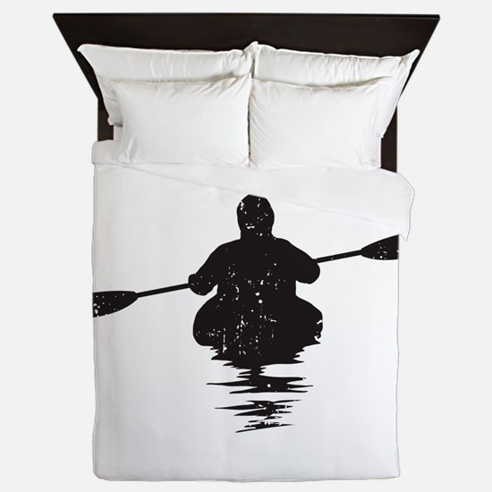 Kayaking Queen Duvet