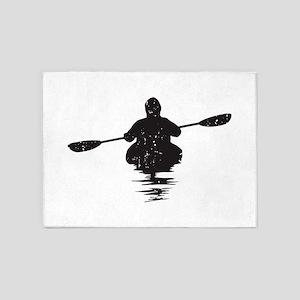 Kayaking 5'x7'Area Rug