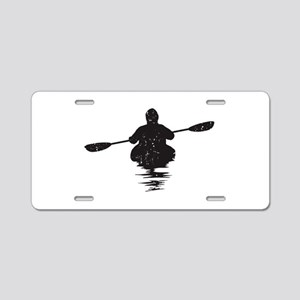 Kayaking Aluminum License Plate