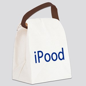 iPood Funny Blue Canvas Lunch Bag