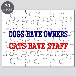 Dogs have owners Puzzle
