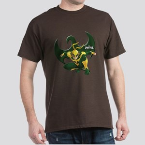 Ultimate Spiderman: Iron Fist Dark T-Shirt