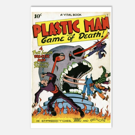 Plastic Man Issue #1 Postcards (package Of 8)