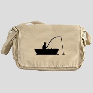 Angler Fisher boat Messenger Bag