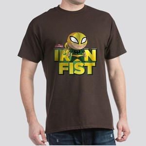 Ultimate Spiderman: Iron Fist Mini Dark T-Shirt