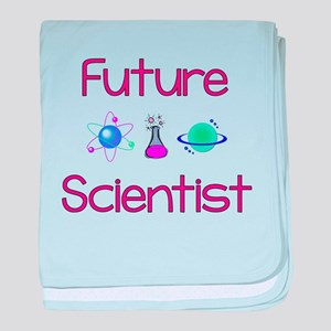 Future Scientist baby blanket