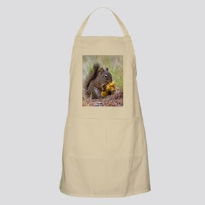 Happy Squirrel & Prized Mushroom Apron