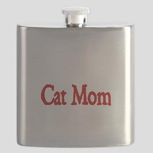 Cat Mom Flask