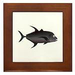 Black Jack Framed Tile
