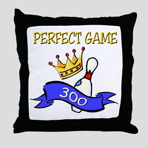 Perfect Game Throw Pillow