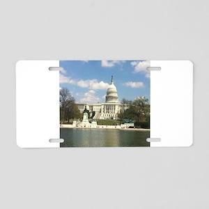 Capitol Hill Aluminum License Plate