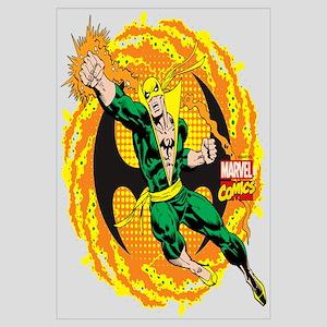 Marvel Iron Fist Action Wall Art