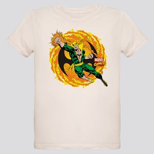 Marvel Iron Fist Action Organic Kids T-Shirt