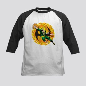 Marvel Iron Fist Action Kids Baseball Jersey