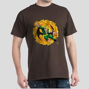 Marvel Iron Fist Action Dark T-Shirt