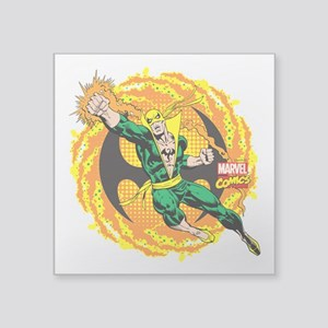 "Marvel Iron Fist Action Square Sticker 3"" x 3"""