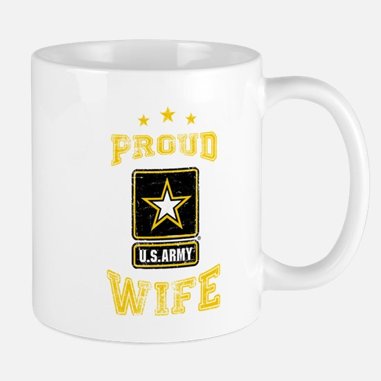US Army proud Wife Mug