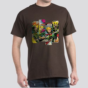 Marvel Iron Fist Panels Dark T-Shirt