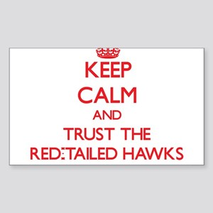 Keep calm and Trust the Red-Tailed Hawks Sticker