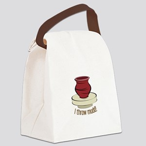 I Throw Mudd! Canvas Lunch Bag