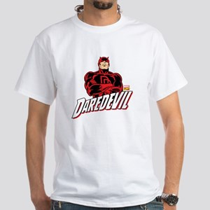 Daredevil White T-Shirt