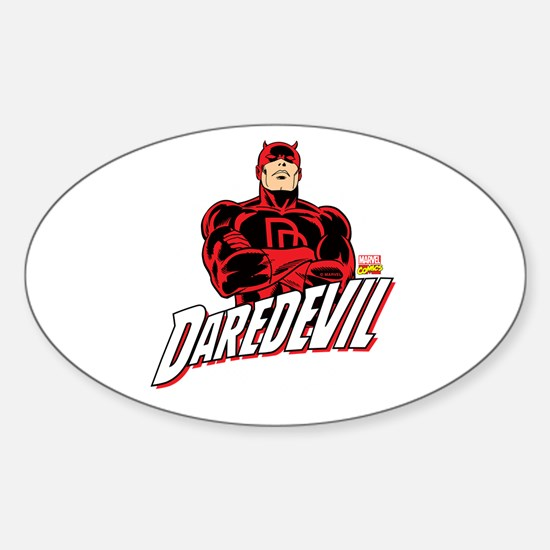 Daredevil Sticker (Oval)