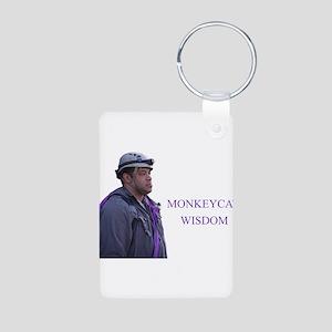 monkeycatWisdom Keychains