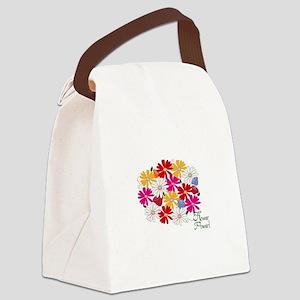 Flower Power! Canvas Lunch Bag