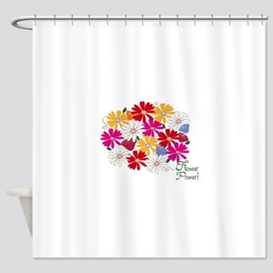 Flower Power! Shower Curtain
