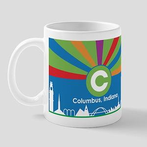 Columbus Flag Mug