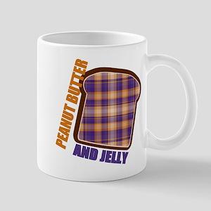 Plaid Peanut butter and jelly Mug