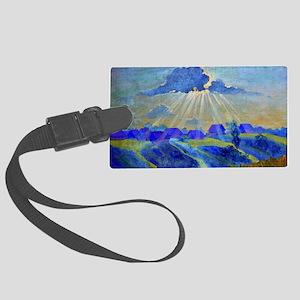 Boris Kustodiev - Sunset Large Luggage Tag