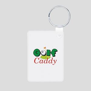 Golf Caddy Keychains