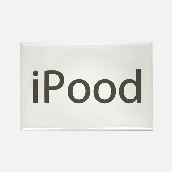 iPood Funny Rectangle Magnet