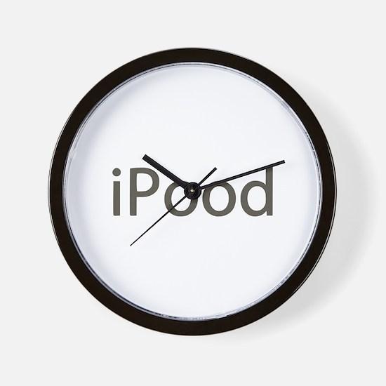 iPood Funny Wall Clock