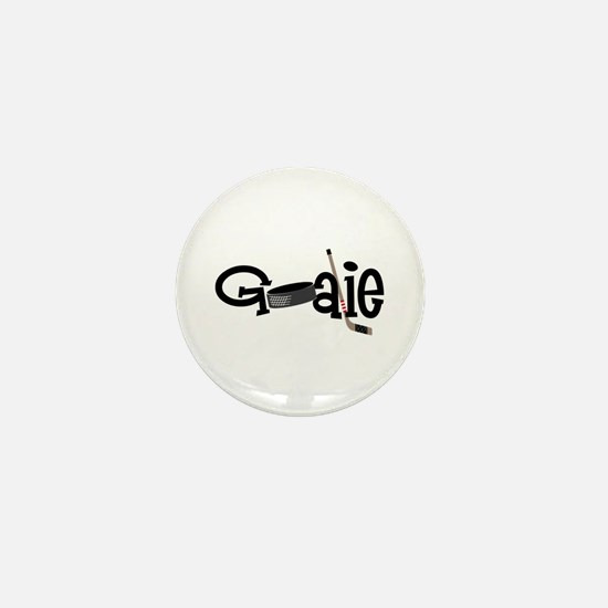 Goalie Mini Button