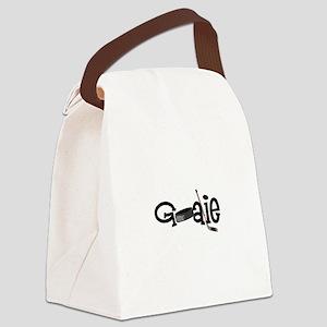 Goalie Canvas Lunch Bag