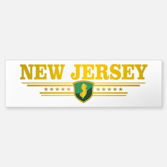 New Jersey Gadsden Flag Bumper Bumper Bumper Sticker