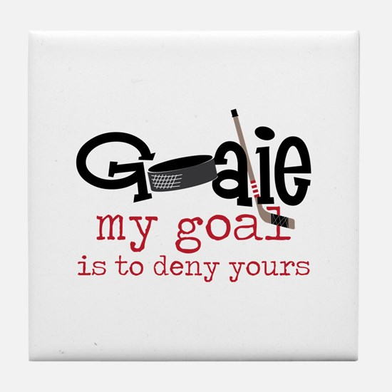 My Goal Tile Coaster