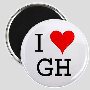 I Love GH Magnet