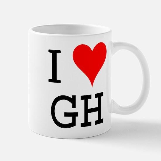 I Love GH Mug