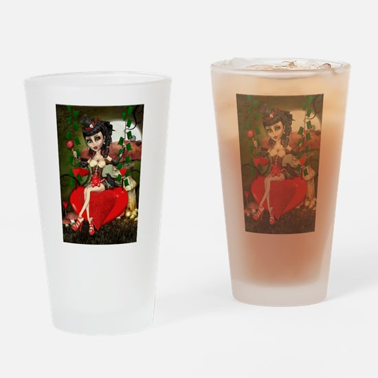 Candy Apple Love Lolita Drinking Glass