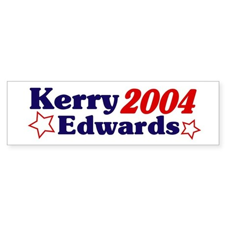 Kerry/Edwards 2004 (Bumper Sticker)