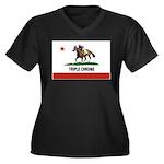 Triple Chrome Plus Size T-Shirt