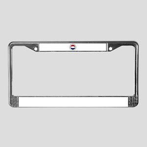 Nederland voetbal soccer License Plate Frame