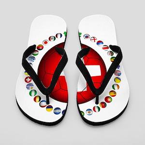 Switzerland soccer Flip Flops