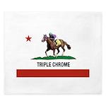 Triple Chrome King Duvet